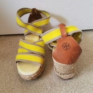 Tory Burch Espadrille Sandals Size 8